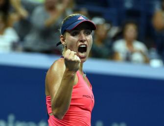 Im Video:  Erst Nummer 1, dann Finaleinzug – Kerber schlägt Wozniacki