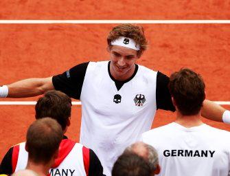 Davis Cup: Deutschland muss gegen Belgien ran