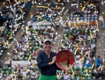 Wozniacki gewinnt in Tokio