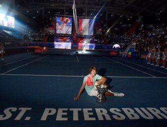 Im Video: Wie Alex Zverev seinen ersten ATP-Titel gewann