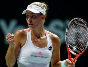 WTA-Finale: Kerber startet mit Auftaktsieg