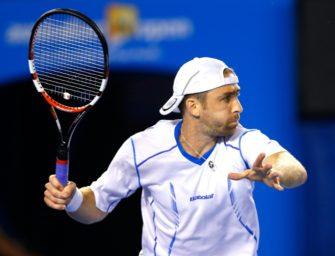 Becker verliert gegen Tsonga