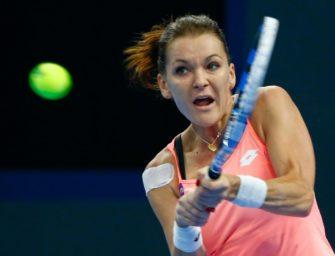 Im Video: Titelverteidigerin Radwanska unterliegt Kuznetsova