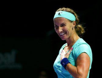 WTA-Finale: Kuznetsova macht großen Schritt Richtung Halbfinale