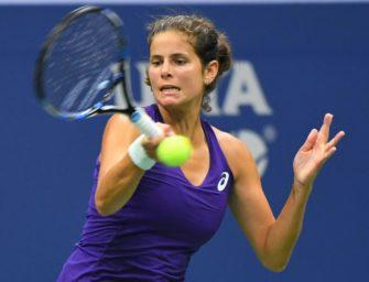 Tennis: Görges verpasst Finale von Moskau