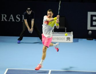 Tennis: Mischa Zverev siegt sensationell gegen Wawrinka