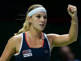 WTA-Finale: Cibulkova als erste Spielerin im Endspiel