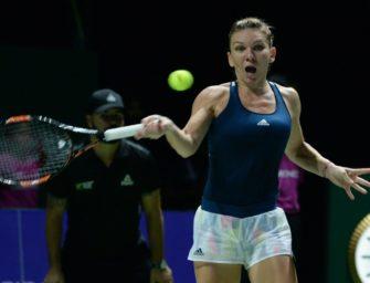 Halep startet mit Sieg in WTA-Finale