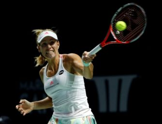 WTA-Finale: Kerber verliert Endspiel gegen Cibulkova