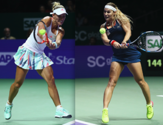 WTA-Finale Kerber vs. Cibulkova – so lief das Match