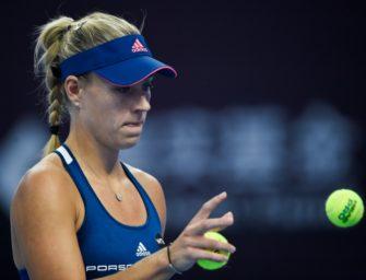 WTA-Finale: Kerber erwischt gute Auslosung