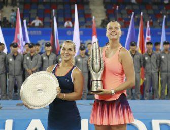 Kerber-Bezwingerin Kvitova gewinnt Turnier in Wuhan