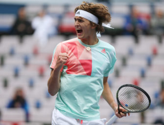 Alex Zverev: Zwischenstation auf dem Weg zum Champion