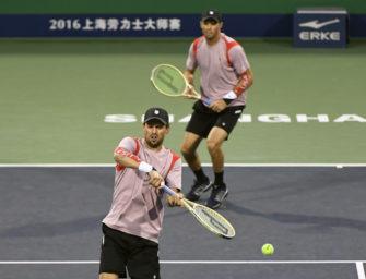 Bryan-Brüder feiern 1000. Sieg auf der ATP-Tour