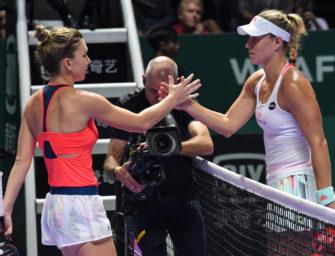 WTA-Finale: Kerber nach zweitem Sieg vor Halbfinal-Einzug