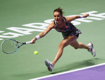Singapur-Halbfinale: Kerber trifft auf Radwanska