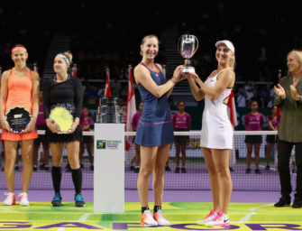 WTA-Finale: Makarova/Vesnina gewinnen Doppel-Titel