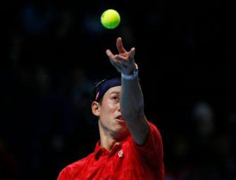 Nishikori startet mit Sieg ins ATP-Finale
