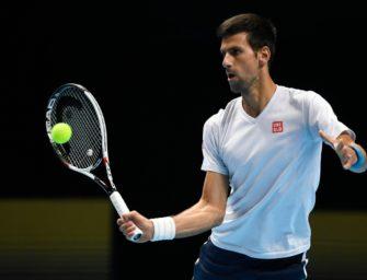 ATP-Finale: Djokovic startet mit Sieg