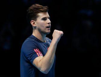 ATP-Finale: Thiem wahrt Halbfinalchance