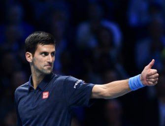 ATP-Finale: Djokovic bezwingt auch Ersatzspieler Goffin