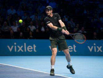 ATP-Finals: Murray schlägt Cilic zum Auftakt