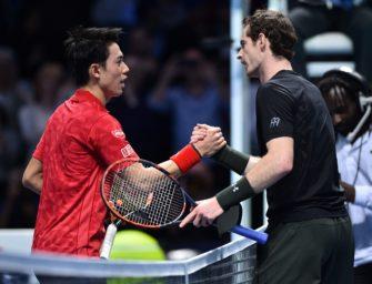 ATP-Finals: Murray ringt Nishikori nieder