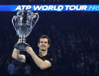 Murray schlägt Djokovic und beendet Saison als Nummer 1