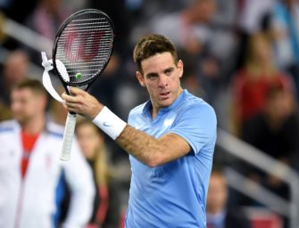 Davis Cup-Finale: del Potro gleicht aus