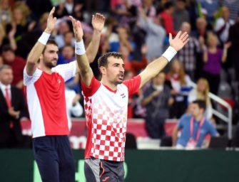 Vorteil Kroatien: 2:1-Führung im Davis Cup-Finale