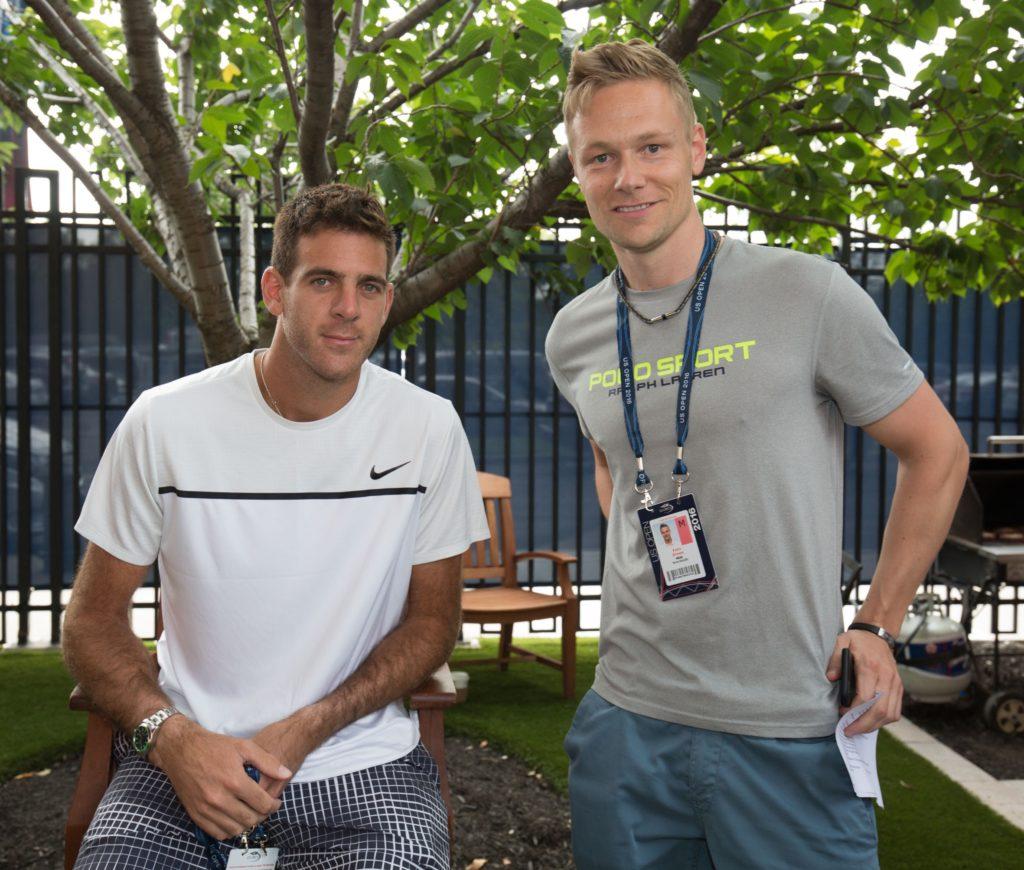 JUAN MARTIN DEL POTRO (ARG) Tennis - US Open 2016 - Grand Slam ITF / ATP / WTA - USTA Billie Jean King National Tennis Center - New York - New York - USA - 31 August 2016.