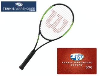 Wilson-Racket + 50€-Gutschein