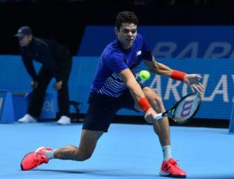 Tennis: Wimbledonfinalist Raonic trennt sich von Trainer Moya