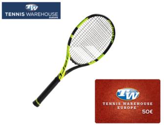 Babolat-Racket + 50€-Gutschein
