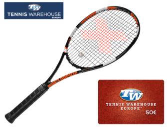 Pacific-Racket + 50€-Gutschein
