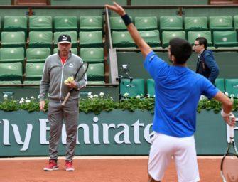 """Becker über Djokovic: """"Er hat in den letzten Monaten nicht genug trainiert"""""""