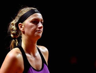 Nach Messer-Attacke: Kvitova verletzt, aber außer Lebensgefahr
