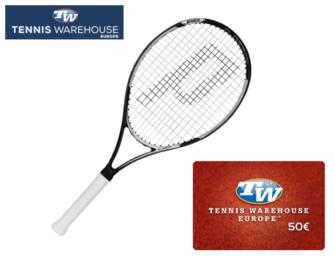 Prince-Racket + 50€-Gutschein
