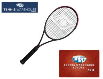 Topspin-Racket + 50€-Gutschein