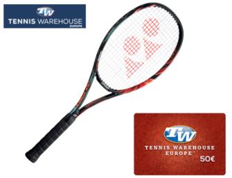 Yonex-Racket + 50€-Gutschein