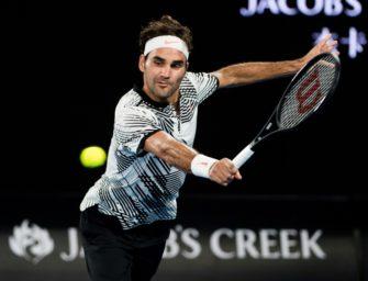 Melbourne: Mischa Zverev trifft im Viertelfinale auf Federer