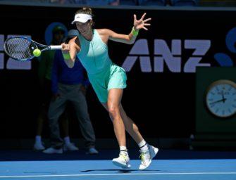 Muguruza marschiert ins Viertelfinale von Melbourne