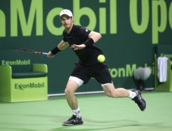 Doha: Murray und Djokovic weiter – Brown raus