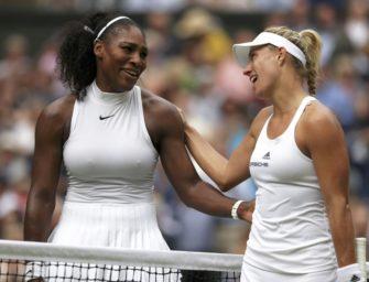 """Serena Williams lobt Kerber: """"Sie war die verdiente Nummer eins"""""""