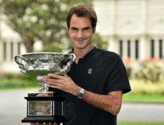 """Federer bei Fotoshooting in Melbourne: """"Will noch einige Jahre spielen"""""""