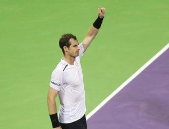 Murray gewinnt Auftakt in Doha: 27. Sieg in Serie