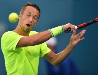 Sydney: Kohlschreiber im Viertelfinale, Aus für Mischa Zverev