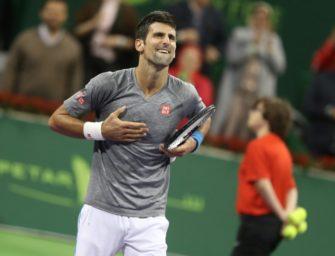 Doha: Djokovic gewinnt Gigantentreffen gegen Murray