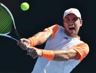 Mischa Zverev im Achtelfinale der Australian Open