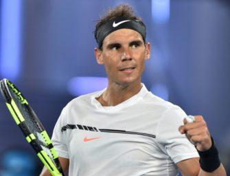 Nadal gewinnt und spielt gegen Alexander Zverev